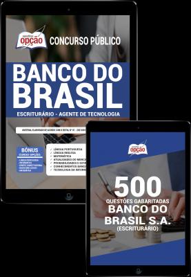 Apostila digital pdf/impressa para Banco do Brasil - Escriturário - Agente de Tecnologia