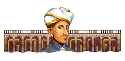 M Visvesvaraya honoured by Google on his 158th Birth Anniversary
