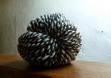 Black  & White Ouessant Wool