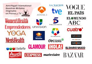 AEROYOGA, TENDENCIAS, PRENSA, TELEVISION, TV, ARTICULOS, NOTAS, REPORTAJES, ENTREVISTAS, AERIAL YOGA, ACRO, MODA, EJERCICIO, DEPORTE, RAFAEL MARTINEZ, MEDIOS,