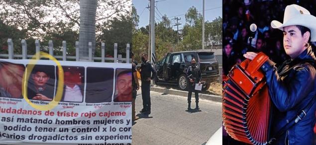 Un hermano de Alfredito Olivas: Cobardía gatillera ataca a balazos Cadillac en Jalisco y lo matan junto a su pareja y bebé, sobrevive niñera y niño de 4 años, a su papá lo amenazaron en Narcomanta