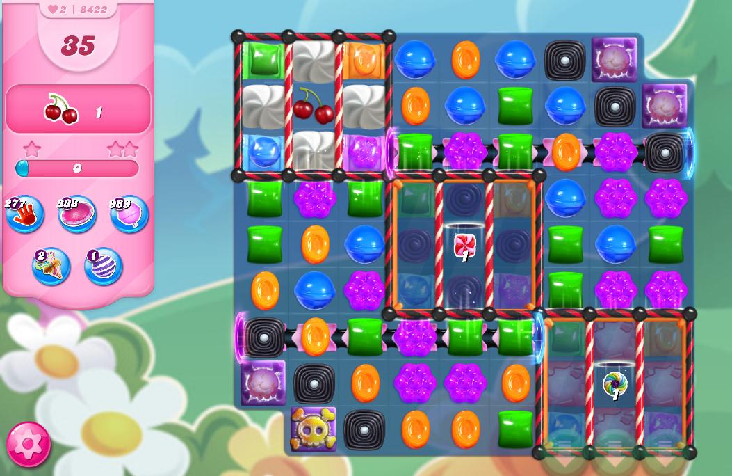 Candy Crush Saga level 8422