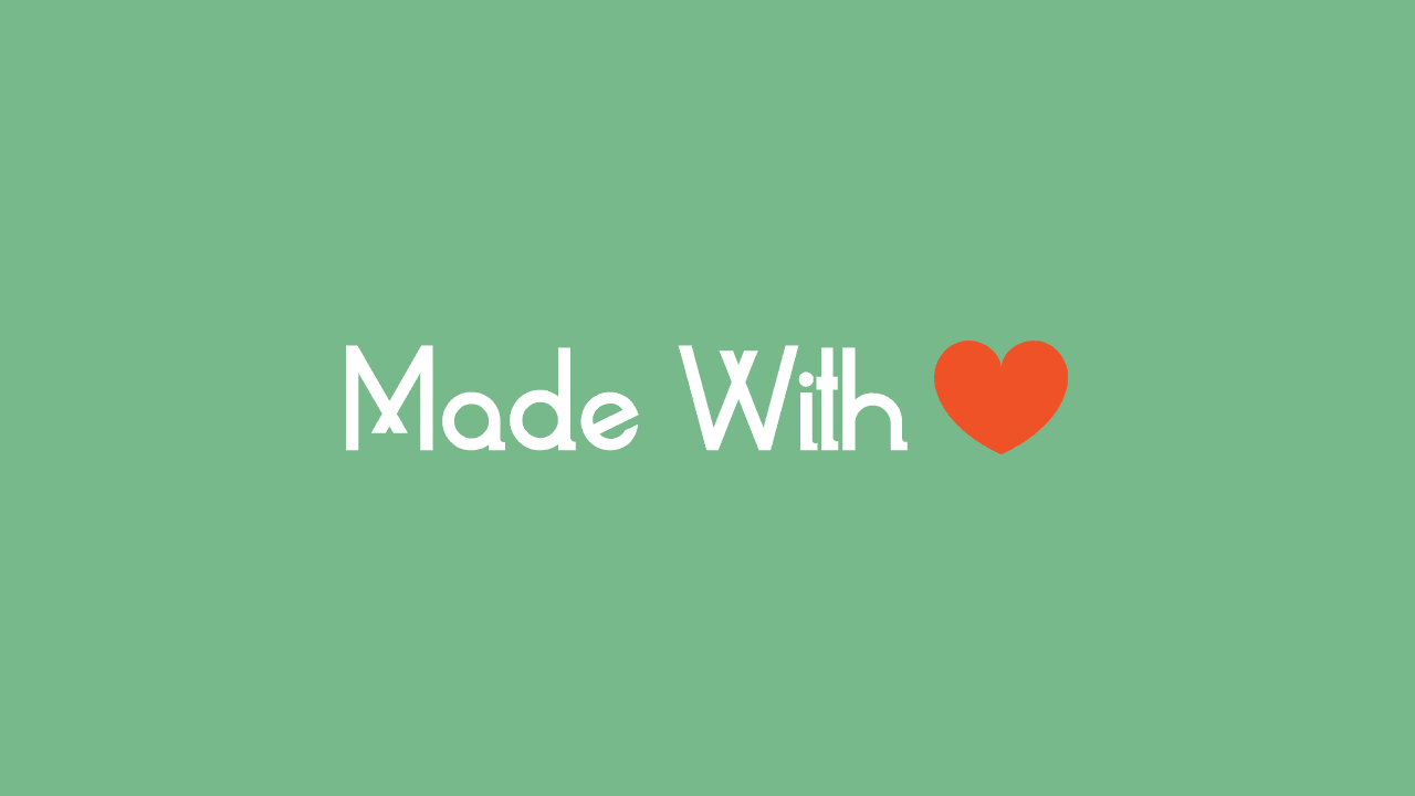 Cara Membuat Made With Love di Footer Blogger