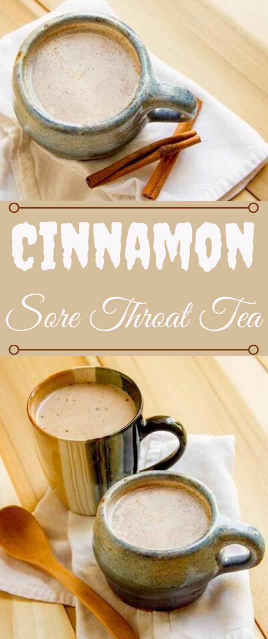 Cinnamon Sore Throat Tea #drink #cinnamon #tea #party #cocktail