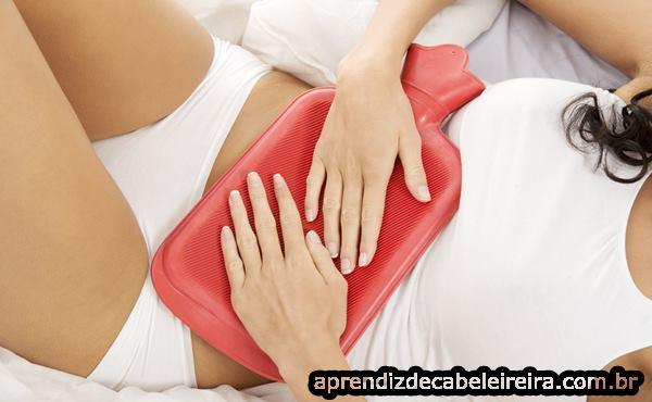 Bolsa Quente para Aliviar Cólicas Menstruais