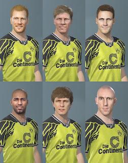 PES 2020 Facepack Borussia Dortmund Legends by Caste