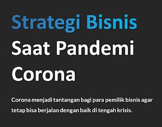 Membaca Peluang Usaha Waralaba Saat Pandemi Corona (Analisa)