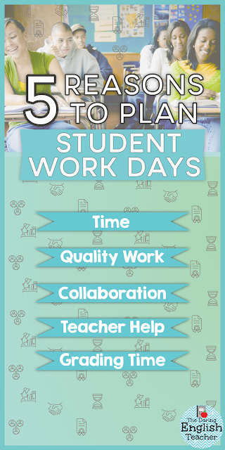 Five reasons why teachers should plan student work days