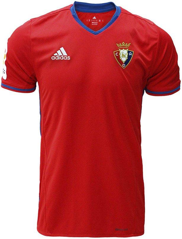 90abbf88b8 Adidas divulga as novas camisas do Osasuna - Show de Camisas