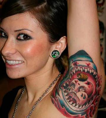 tatuaje axila