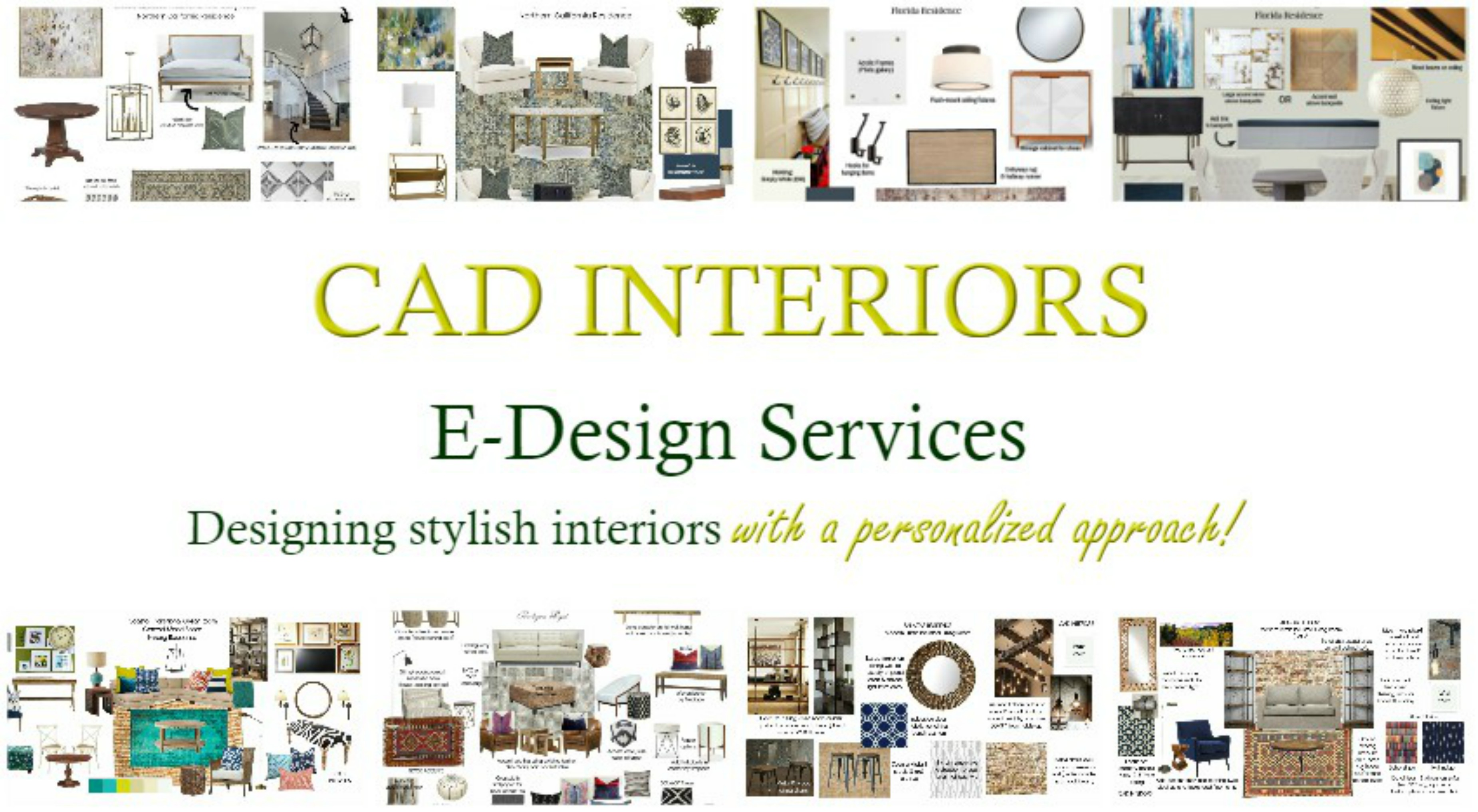 CAD Interiors E-Design Services