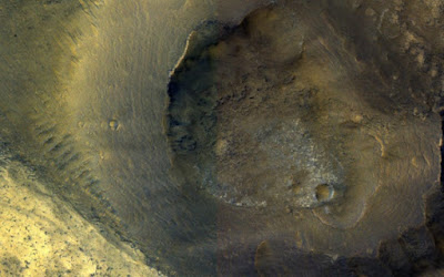 Not all volcanoes produce lava. Some give mud, and research indicates that there were mud volcanoes on Mars.