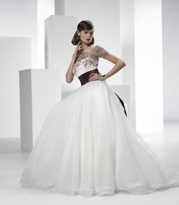 abiti da sposa e temi per matrimonio Valentini 2014