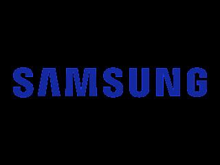 Logo marca da empresa Samsung