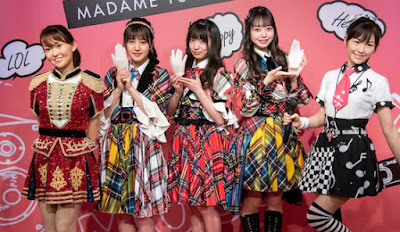 A new look on Watanabe Mayu and Oshima Yuko wax sculpture in Madame Tussauds
