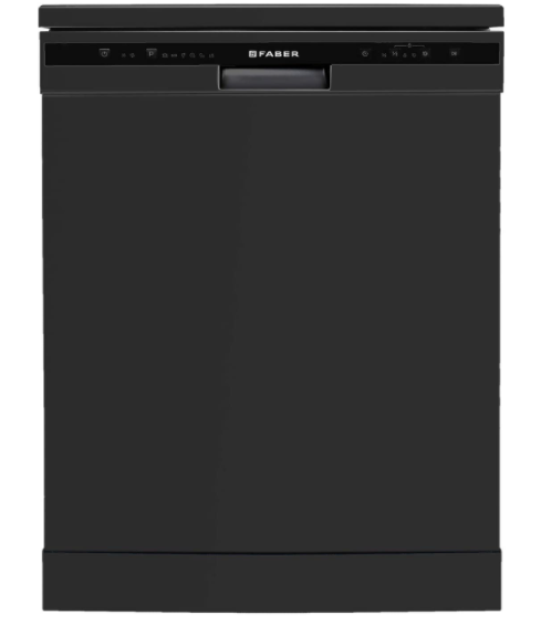 Faber 12 Place Settings Dishwasher (FFSD 6PR 12S, Neo Black, Best suited for Indian Kitchen, Hygiene Wash