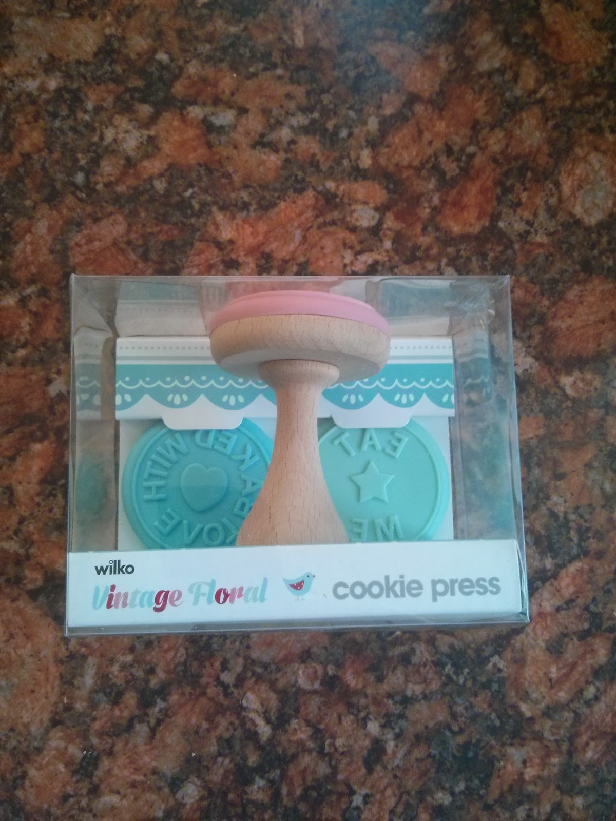 Wilko Vintage Floral Cookie Press