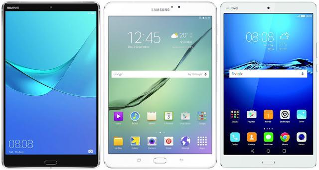 Comparativa mejores tablets Android 8 pulgadas