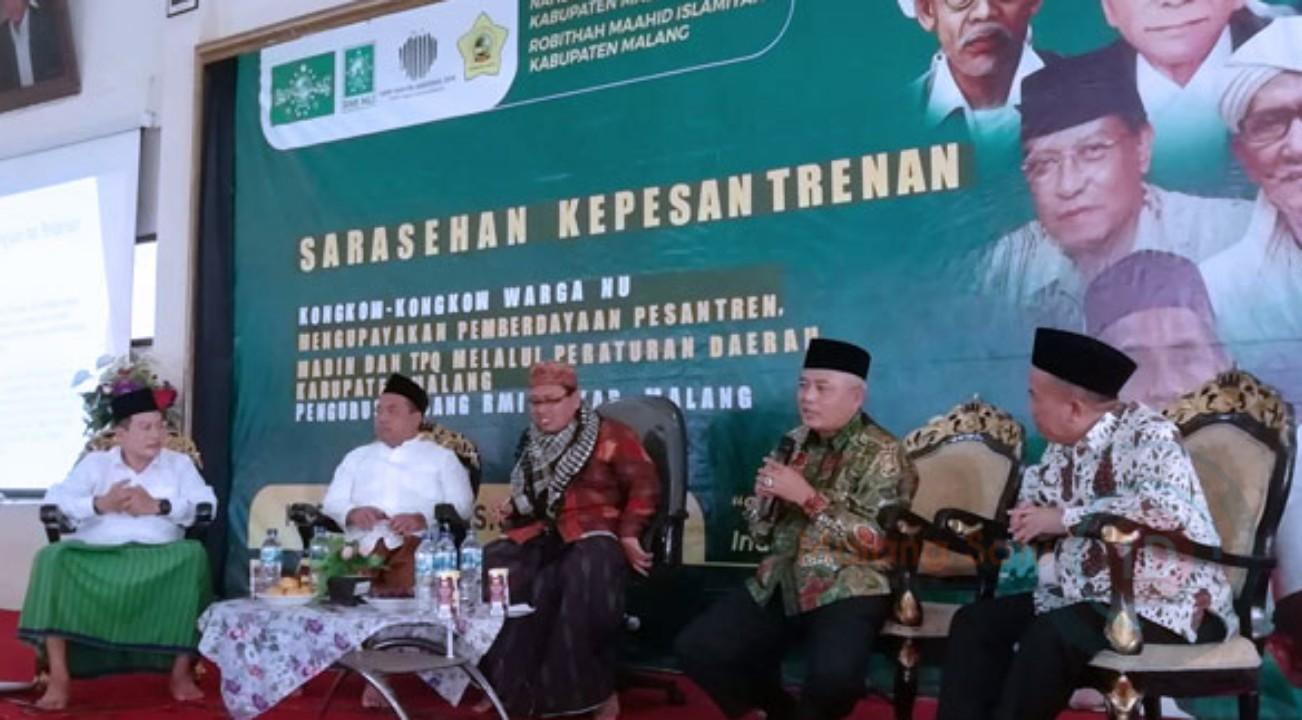 Bupati Malang : Pemkab Malang Sudah Alokasikan Bosda Bagi Pesantren Dan Madrasah Diniyah