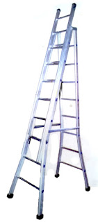 Alumunium Self Supporting Extension Ladder, Extension Ladder