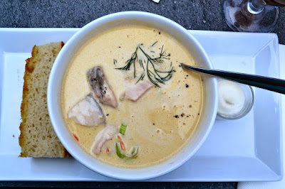 Norwegian fish soup