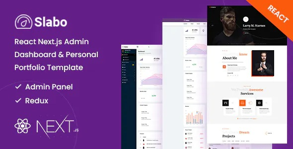 Best Admin Dashboard & Personal Portfolio Template