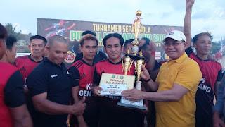 Turnamen Sepak Bola PLB Cup Resmi Ditutup