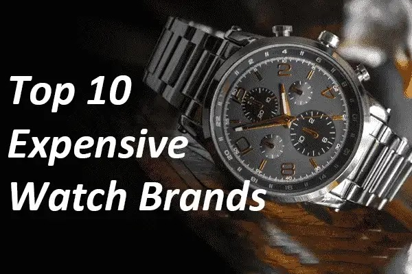 Top 10 Most Expensive Watch Brands in the World in 2021