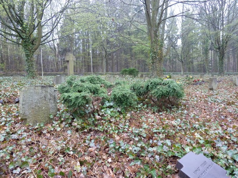 View of the Gebirgsjaeger cemetery