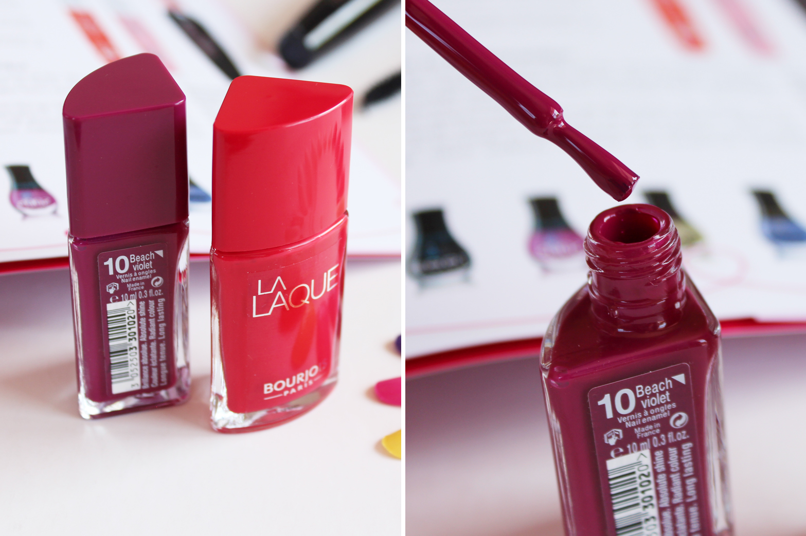 BOURJOIS PARIS | Upcoming Releases + First Impressions - La Laque Nail Polish - CassandraMyee