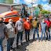 Prefeito de Agrestina acompanha início da pavimentação asfáltica em nove ruas