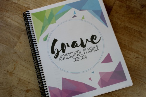 The Brave Homeschool Planner: A Planner For a Homeschool Mom By a Homeschool Mom #Homeschool #Homeschooling #homeschoolplanning
