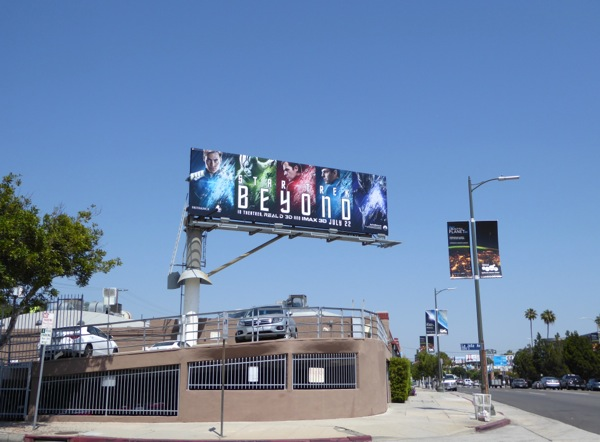 Star Trek Beyond billboard