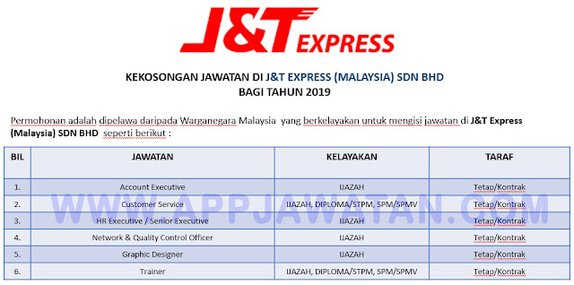 J&T Express (Malaysia) SDN BHD.
