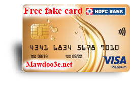 How to get a free Fake Fired Visa Card for 10 for CardGenerator