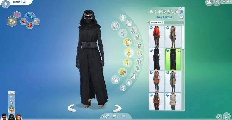 How to unlock all clothing in The Sims 4: Star Wars