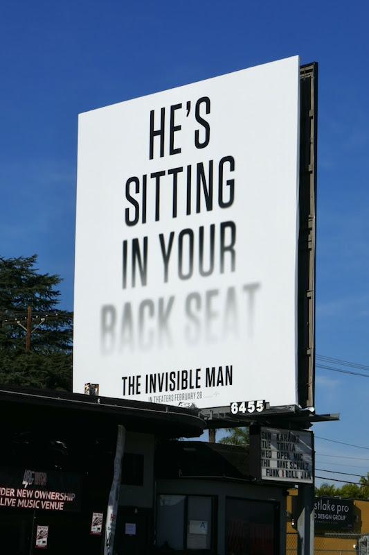 Invisible Man movie billboard