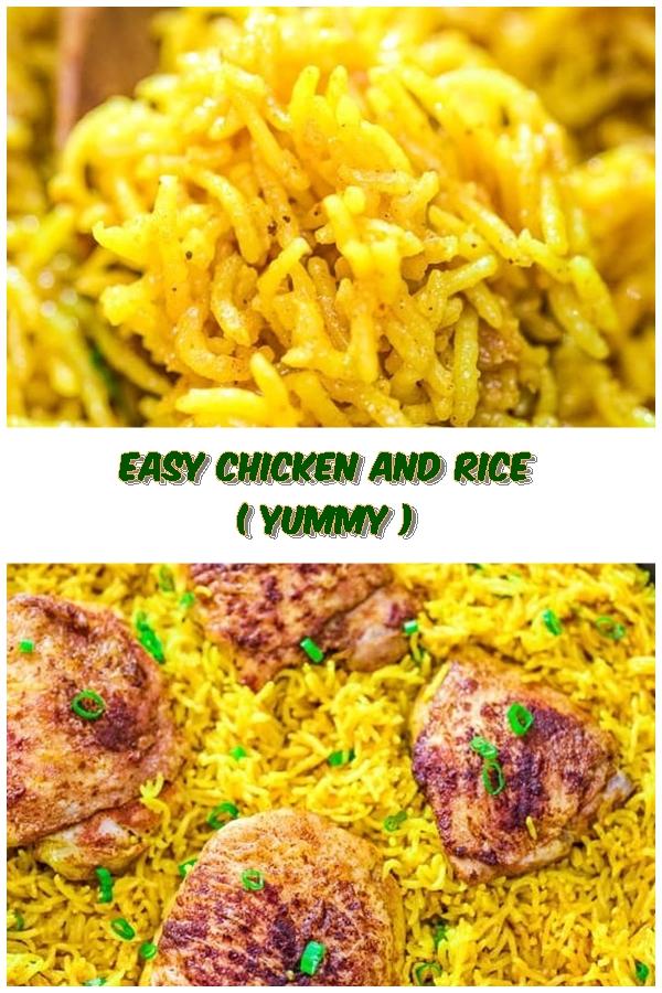 #Easy #Chicken #and #Rice #chickenrecipes #recipes #dinnerrecipes #easydinnerrecipes