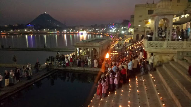 jheel aarti in pushkar