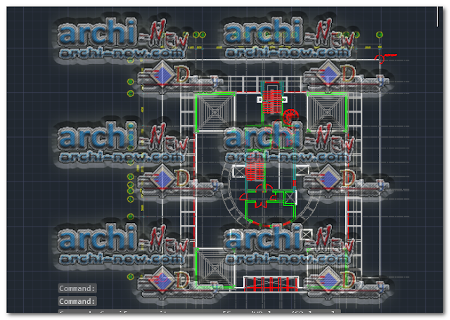 Download-AutoCAD-residence-building-cad-dwg