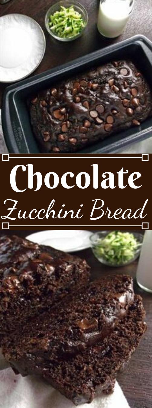 HEALTHY CHOCOLATE ZUCCHINI BREAD #chocolate #healthy #recipes #paleo #keto
