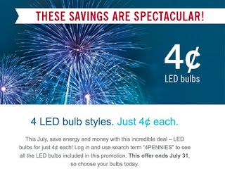 33121512_2264986733734298_9078055537836294144_n. EIGHT LED Lightbulbs Only  32 Cents + Free Shipping. Valid Only For Duke Energy ...