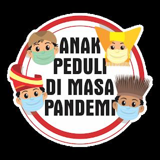 Logo Anak Peduli di Masa Pandemi  CDR