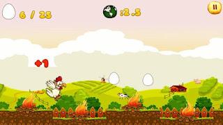 Chicken Run 1.04 Apk for Android - Game Petualangan Seru