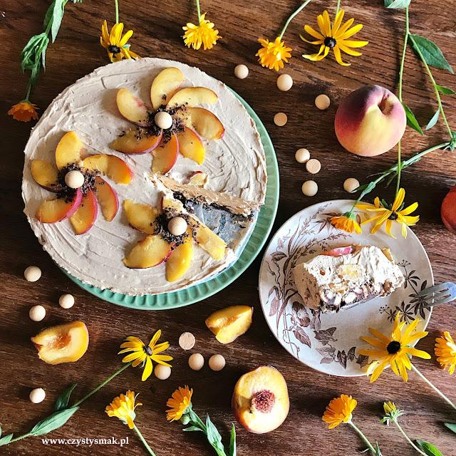Ciasto dzika róża w czekoladzie