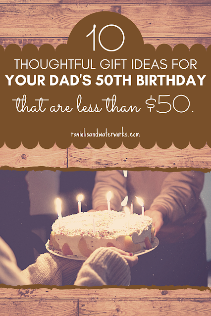 50th birthday gift guide for dad <$50
