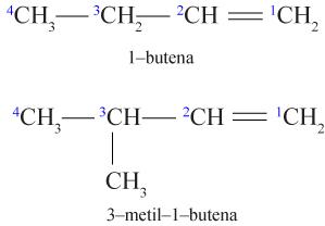 cara memberi nama alkena