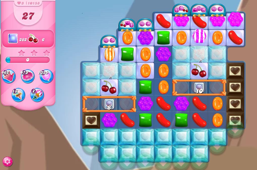 Candy Crush Saga level 10158