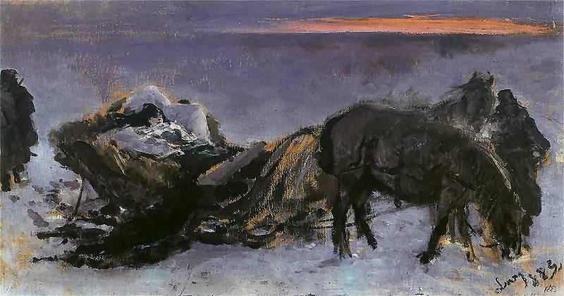 Paintings by Leon Jan Wyczolkowski