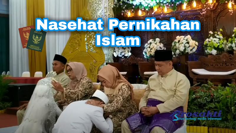 Nasehat Pernikahan Islam